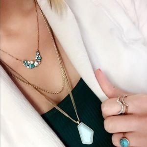 Chloe + Isabel Jewelry - Aquamarina Convertible Pendant Necklace
